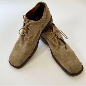 Barney's New York Italian Suede Shoe
